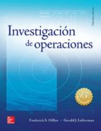 investigacion de operaciones (10ª ed.) frederick s. hillier gerald j. lieberman 9786071512925