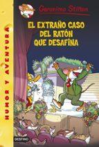 gs 55 :el extraño caso del ratón que desafina geronimo stilton 9788408133025