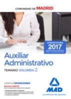 auxiliar administrativo de la comunidad de madrid. temario (vol. 2)-9788414209325