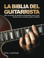la biblia del guitarrista phil capone 9788415053125
