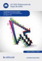 elaboración de hojasde estilo. ifcd0110 (ebook)-9788416433025