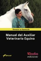 manual del auxiliar veterinario equino 9788416745425