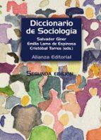 diccionario de sociologia salvador giner emilio lamo de espinosa cristobal (eds.) torres albero 9788420683225