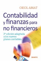 contabilidad y finanzas para no financieros (ebook) oriol amat 9788423427925