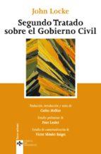segundo tratado sobre el gobierno civil: un ensayo acerca del ver dadero origen, alcance y fin del gobierno civil john locke 9788430951925