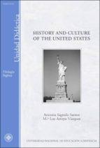 history and culture of the united states antonia sagredo santos mª luz arroyo vazquez 9788436254525