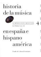 historia de la musica en españa e hispanoamerica (v.4) jose maximo leza 9788437507125