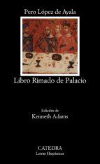 libro rimado de palacio pedro lopez de ayala 9788437611525