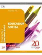 educador social: temario vol. i 9788468107325