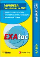 exatac. 4 eso. matematicas op. a-9788468207025