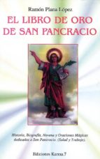 el libro de oro de san pancracio ramon plana lopez 9788488885425