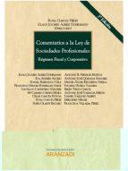 Comentarios a la ley de sociedades profesionales por Rosa garcia perez PDF iBook EPUB 978-8490143025
