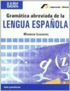 gramatica abreviada de la lengua española mauricio lagartos 9788495920225