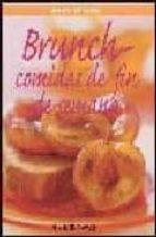 brunch: comidas de fin de semana anne wilson 9788496304925