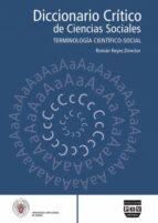 diccionario critico de ciencias sociales: terminologia cientifico -social (vol.4: de la p a la z)-roman reyes-9788496780125