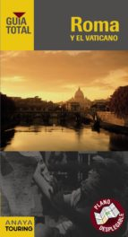 roma y vaticano 2012 guia total anaya touring 9788499353425
