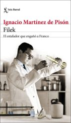 filek (ejemplar firmado por el autor) ignacio martinez de pison 2910021372735