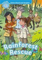 oxford read and imagine 1. rainforest rescue (+ mp3)-9780194017435