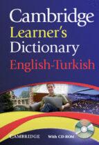 Descargas gratuitas de audiolibros del dominio público Cambridge learner s dictionary english-turkish
