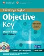objective key (student's book pack (student's book with answers w ith class audio cds (2))-annette capel-wendy sharp-9781107668935