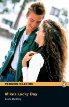 penguin readers level 1: mike s lucky day (libro + cd)-leslie dunkling-9781405878135