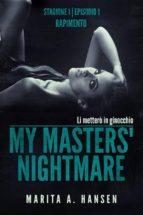 my masters' nightmare stagione 1, episodio 1