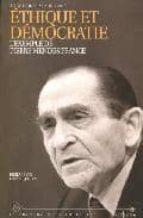 Ethique et democratie Descarga completa del libro