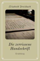 die zerrissene handschrift (ebook)-9783958931435