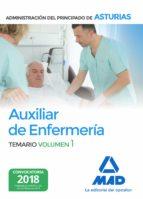 auxiliar de enfermeria de la administracion del principado de asturias (vol. 1) 9788414215135