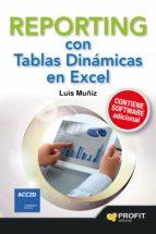 reporting con tablas dinamicas en excel-luis muñiz gonzalez-9788416115235