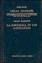 obras menores. la republica de los atenienses 9788424909635
