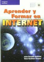 aprender y formar en internet jesus gonzalez botarico elena gaudioso vazquez 9788428327435