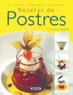 recetas de postres 9788430568635