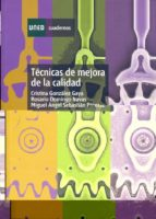 tecnicas de mejora de la calidad-cristina gonzalez gaya-rosario domingo navas-miguel angel sebastian perez-9788436241235