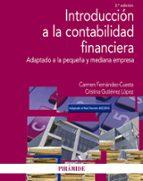 introduccion a la contabilidad financiera (2ª ed.): adaptado a la pequeña y mediana empresa carmen fernandez cuesta cristina gutierrez lopez 9788436837735