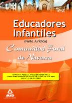 educadores infantiles de la comunidad foral de navarra. test part e juridica 9788467625035