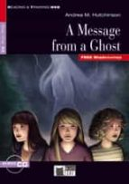 a message from a ghost book + cd a. m. hutchinson 9788468210735