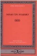 martin fierro-jose hernandez-9788470397035
