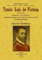 tomas luis de victoria, abulense (ed. facsimil)-felipe pedrell-9788490010235