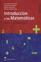introduccion a las matematicas: acceso a la universidad (3ª ed.) 9788496062535