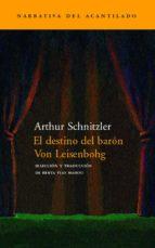 el destino del baron von leisenbohg-arthur schnitzler-9788496136335
