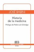 historia de la medicina (2ª ed.) jose babini 9788497846035