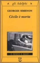 Cecile e morta 978-8845915635 PDF DJVU