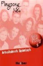 ping pong neu 1. arbeitsbuch spanisch (ejercicios)-gabriele kopp-konstanze frolich-9783190816545