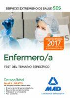 enfermero/a del servicio extremeño de salud (ses). test específico 9788414211045