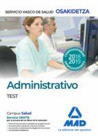 administrativos del servicio vasco de salud osakidetza. test 9788414216545