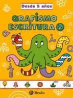 grafismo y escritura 2: grandes cuadernos 9788421659045