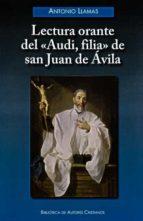 LECTURA ORANTE DELAUDI, FILIADE SAN JUAN DE ÁVILA