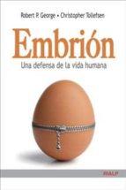 embrion robert p. george christopher tollefsen 9788432142345