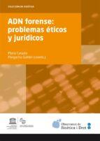 adn forense: problemas eticos y juridicos-maria casado-9788447537945